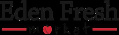 A theme logo of Eden Fresh Market